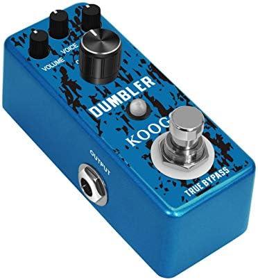 Koogo - Mini pedal analógico con efecto de guitarra para guitarra ...