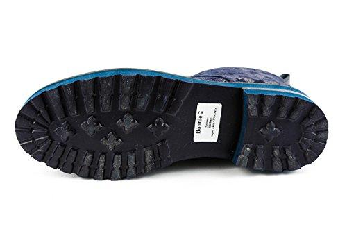 MH15 amp; 947 Lacets Hamilton Chaussures de Melvin à Femme Bleu Bleu Ville pour qFdE8t