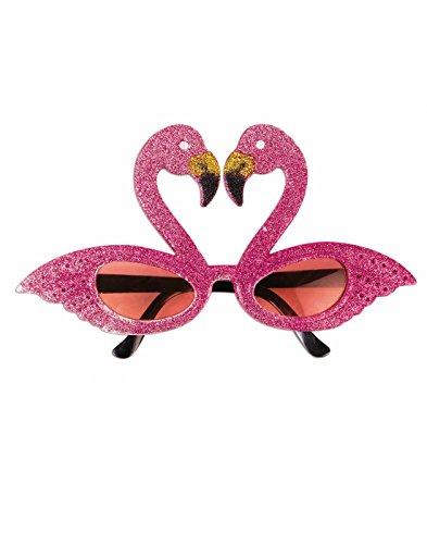 Forum Novelties Glittery Pink Flamingo Cat Eye (Funky Cat Costumes Costumes)