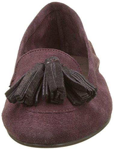 Bensimon Damen Pompon Slipper Violett (Prune)