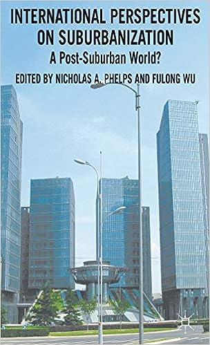A Post-Suburban World? International Perspectives on Suburbanization