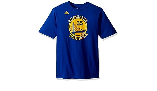 Adidas Kevin Durant Golden State Warriors # 35 NBA niños Nombre y número Jersey Camiseta, Golden State Warriors, Negro: Amazon.es: Deportes y aire libre