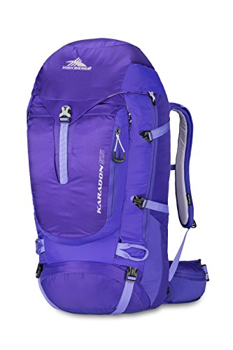 High Sierra 70520-4891 Women's Karadon 55L Frame Pack, Blackberry/Amethyst/Orchid