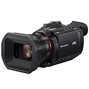 Panasonic X1500 4K Professional Camcorder with 24X Optical Zoom, WiFi HD Live Streaming, HC-X1500 (USA Black)