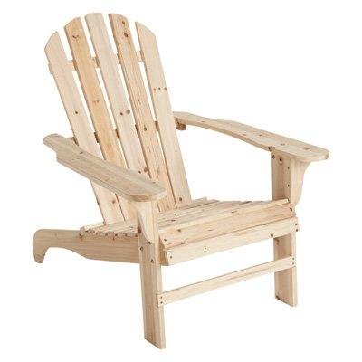 Cedar/Fir Adirondack Chair   35 3/4in.L X 30 1/