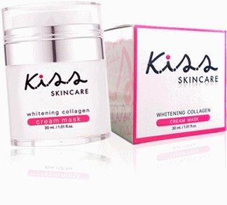 Kiss Skin Care Whitening Collagen Cream Mask (Wassup Scream)