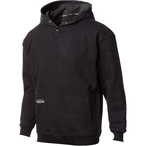 Arborwear Men's Double Thick Pullover Sweatshirt, Navy, (Washed Logo Mens Hoodie)