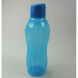 Tupperware MEDIUM ECO WATER BOTTLE/VIVID BLUE 25-oz./750 mL capacity