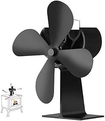 Weyty - Ventilador estufa de leña, XL-BLFS-600A ventilador ...
