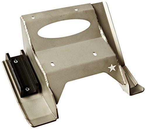 Plates Skid Stainless Racing Steel - Lonestar Racing 21P43330 Stainless Steel Skid Plate for Yamaha YFZ 450