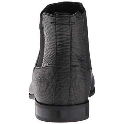 Calvin Klein Men's Christoff Epi Leather Chelsea Boot, Medium 3