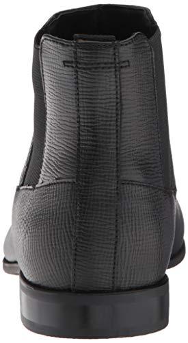 Calvin Men's Black Christoff Leather Klein Boot Epi Chelsea AA4w8q