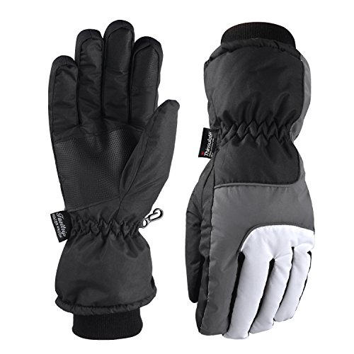 Fazitrip Thinsulate Gloves, Windproof and Water...