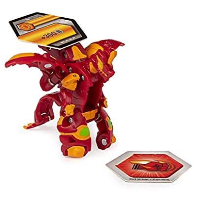 Bakugan Ultra, Pyrus Dragonoid, Season 2 Armored Alliance - 3-inch Tall Collectible Transforming Creature, for Ages 6 and Up: Toys & Games