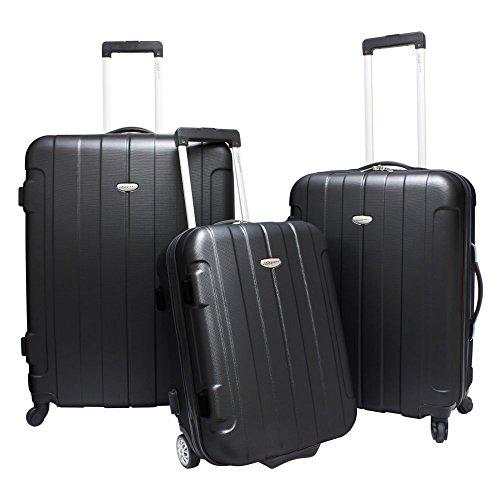 travelers-choice-rome-3-piece-hardshell-spinner-rolling-luggage-set-black