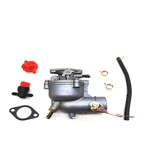 QMOKO 390323 Carburetor Replacement for Briggs & Stratton 394228 299169 7 8 9 HP Horizontal Engine Motor Generator Tiller Mower Carb Toro Snowblower 293950 394514 Carb -  Jingshan xiangtong electronic communications co. LTD, 751-10956