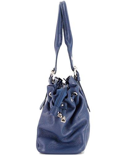 Bleu Femme Cuir SA096514RO histoireDaccessoires Main à Luella Sac pq0wqIZxH