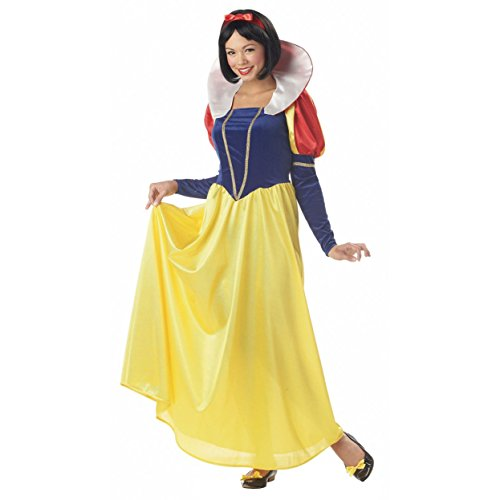 MyPartyShirt Snow White Womens Plus Size Costume -Womens Plus 1X (16-18)
