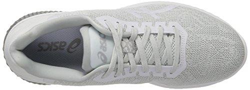 Asics Gel-Kenun, Scarpe da Ginnastica Donna Bianco (White/White/Glacier Grey)