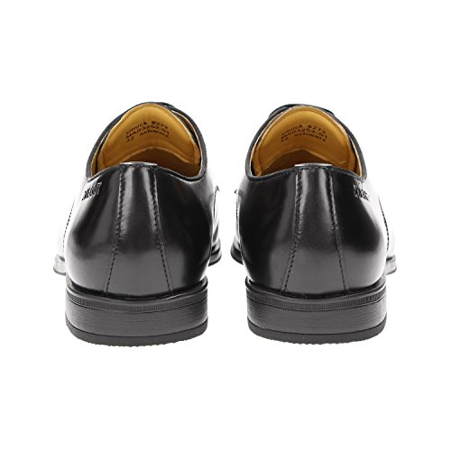 Bough Smuck # 272 In Pelle Da Uomo Con Punta A Punta Scarpe Da Derby Business Sneaker Leggermente Nere