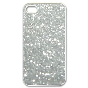 Silver Bling Unique Design Cover Case for Iphone 4,4S,custom case cover ygtg592823