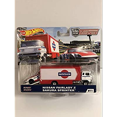 Hot Wheels Team Transport Sakura Sprinter: Toys & Games