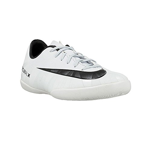 Nike Jr. Mercurial Victory VI CR7 IC Indoor Soccer Shoe (Sz. 5Y) Blue Tint, White (Nike Mercurial Jr Grip)