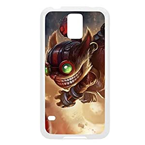 Ziggs-001 League of Legends LoL For Case Samsung Galaxy S5 Cover - Plastic White