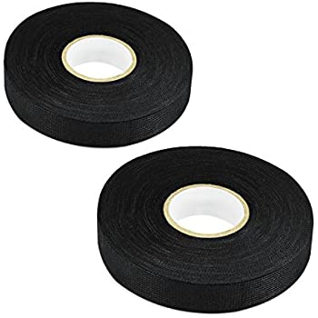 Astounding Amazon Com 2Pcs Wiring Loom Harness Adhesive Cloth Fabric Tape 19Mm Wiring 101 Akebwellnesstrialsorg