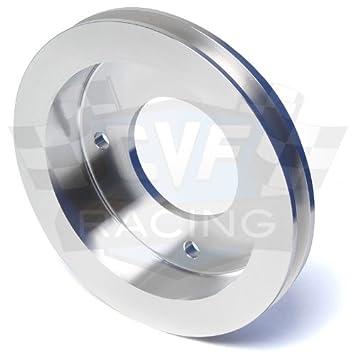 Amazon com: Billet Aluminum Pontiac Crankshaft Pulley- 1V