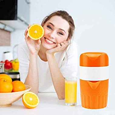 ScentRose Citrus Orange Juicer Lemon Squeezer, Manual Hand Juicer with Strainer and Container, for Lemon,Orange,Lime,Citrus(Random Color) 14