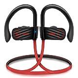 Anbes Bluetooth Headphones, Wireless Earbuds Sport w/Mic IPX7 Waterproof, Bluetooth 4.1 HD Stereo