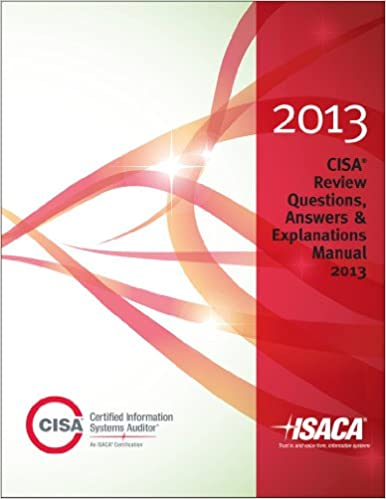 Cisa review questions answers explanations 2013 isaca cisa review questions answers explanations 2013 isaca 9781604203066 amazon books fandeluxe Images