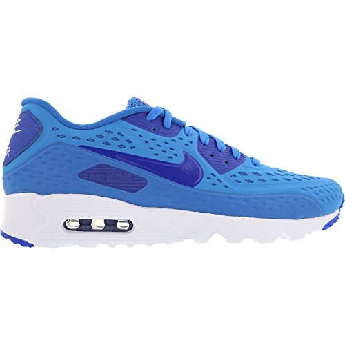 nike air max 90 ultra BR mens trainers 725222 sneakers shoes (uk 11 us 12 eu 46 , light photo blue game royal white 404)