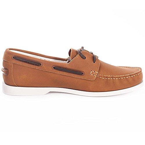Lacoste Navire Premium Herren Schuhe Beige