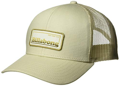 (Billabong Men's Walled Trucker Hat Chino One Size)