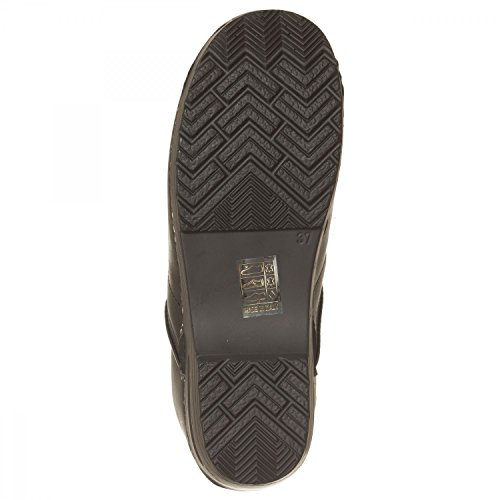 negro para negro 41 de VialeScarpe Zuecos mujer Piel 7488vtne Ss negro 41 xRWpwZSqP