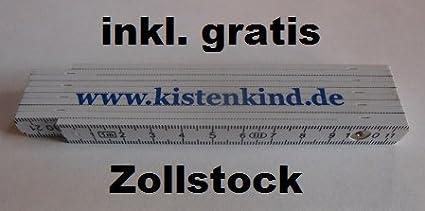 2x B/äckerkiste Cateringbox 60 x 40 x 15 durchbrochen inkl gratis Zollstock 2er Set