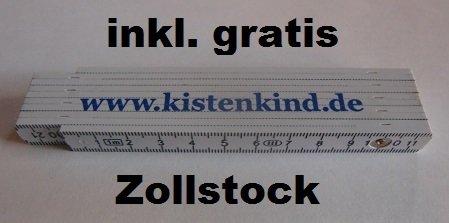 gratis Zollstock 2er Set 2x Eurobeh/älter 80 x 60 x 22 inkl