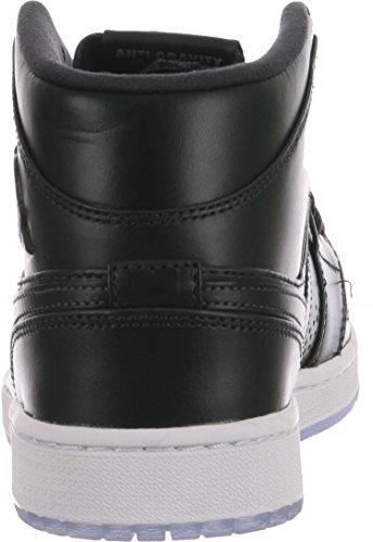 Nike - Air Jordan 1 Mid Nouveau - Couleur: Noir - Pointure: 47.0