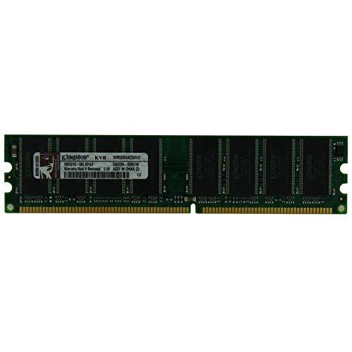 (Kingston KVR333X64C25/512 512 MB 333 MHZ DDR PC2700 Non-ECC CL2.5 184-Pin 2.5 V SDRAM DIMM RAM)