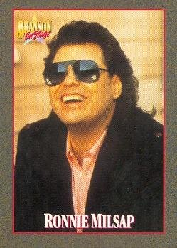 Ronnie Milsap trading card (Country Music) 1992 Branson on Stage #77