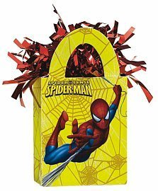 Spiderman Mini Tote Balloon Weight - 5.5 In. x 3 In. Each by KidsPartyWorld.com