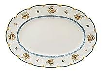 Adeline Bone China By Narumi, Sharilamoon 41cm Oval Platter