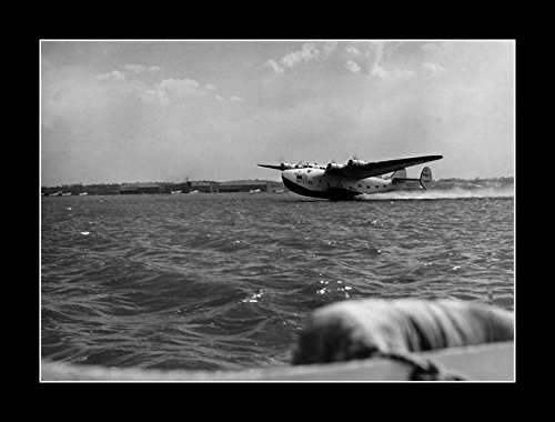 - 8 x 10 All Wood Framed Photo Boeing 314a Clipper Pan American Pacific Clipper