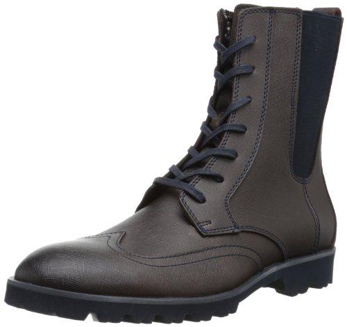 Brown Calvin Mens Navy Klein Klein Mens Gale Dark Boot Calvin Boot Gale v1FU1q