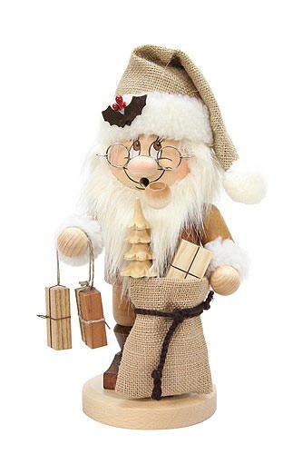 German Incense Smoker Santa Claus - 28,5 cm / 11 inch - Christian Ulbricht by Authentic German Erzgebirge Handcraft