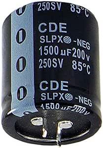 CAP ALUM 3300UF 20/% 80V SNAP
