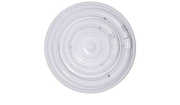 Plafón fluorescente circular 54W de dos tubos: Amazon.es ...