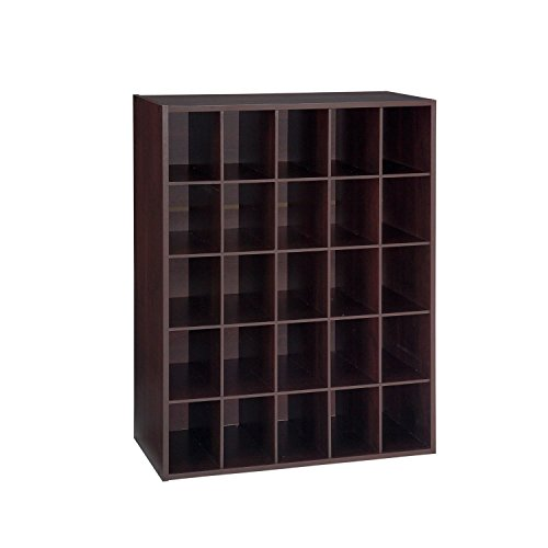 Closet Shoe Organizer Storage Cabinet Cube, 25 Pair Floor Cu